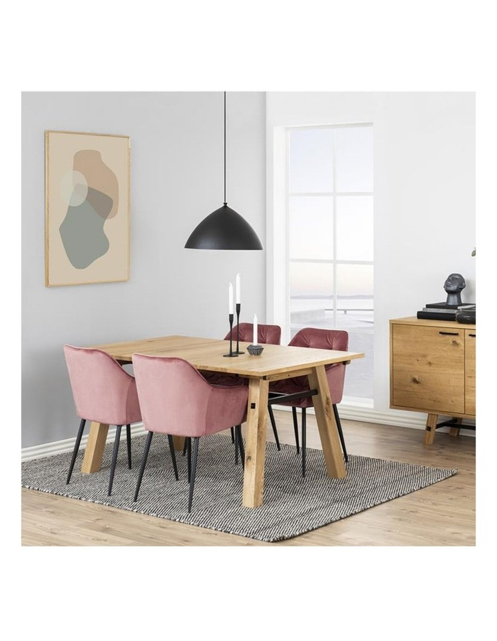 Set of 2 Living Stella Dining Chair Coral image 7