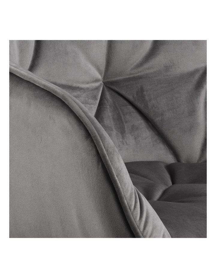 Set of 2 Living Stella Dining Chair Dark Grey image 5