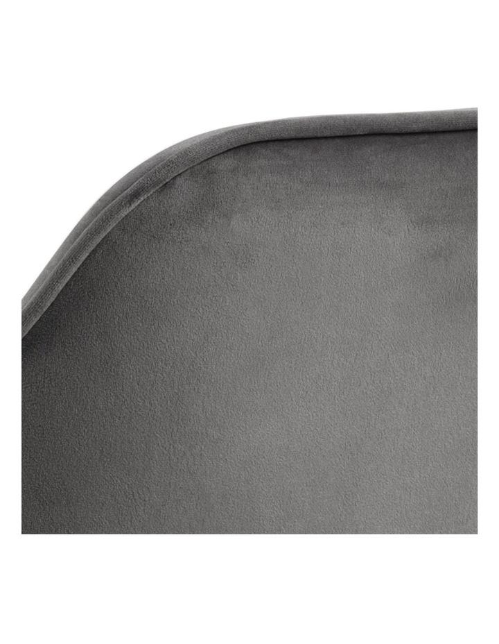 Set of 2 Living Stella Dining Chair Dark Grey image 6