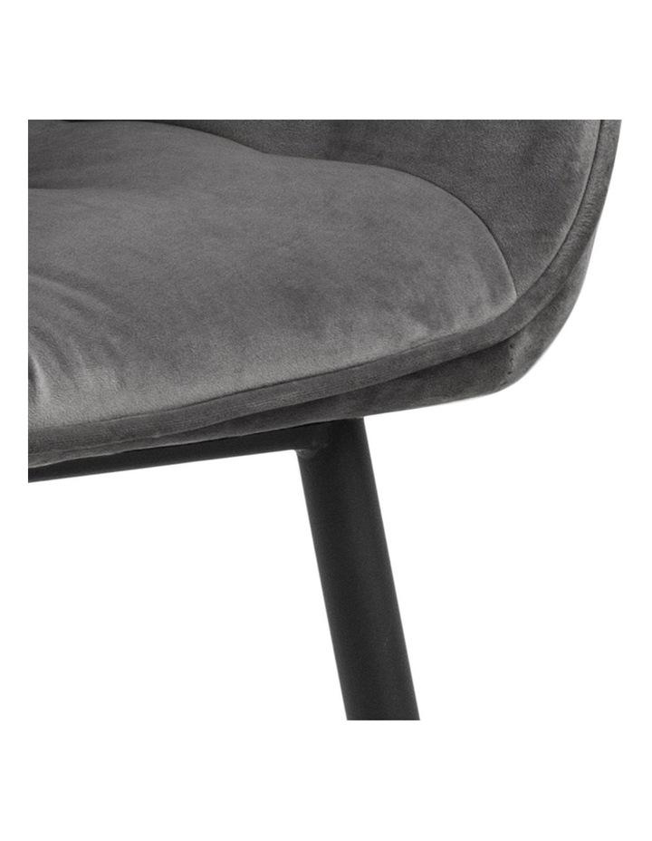 Set of 2 Living Stella Dining Chair Dark Grey image 7