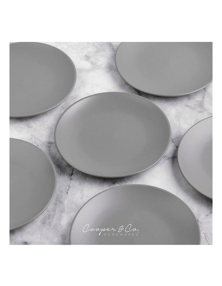 21cm Annisa Side Plate Set Of 6  Grey image 4