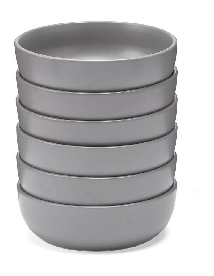 18cm Annisa Bowl Set Of 6  Grey image 1