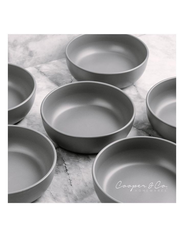18cm Annisa Bowl Set Of 6  Grey image 4