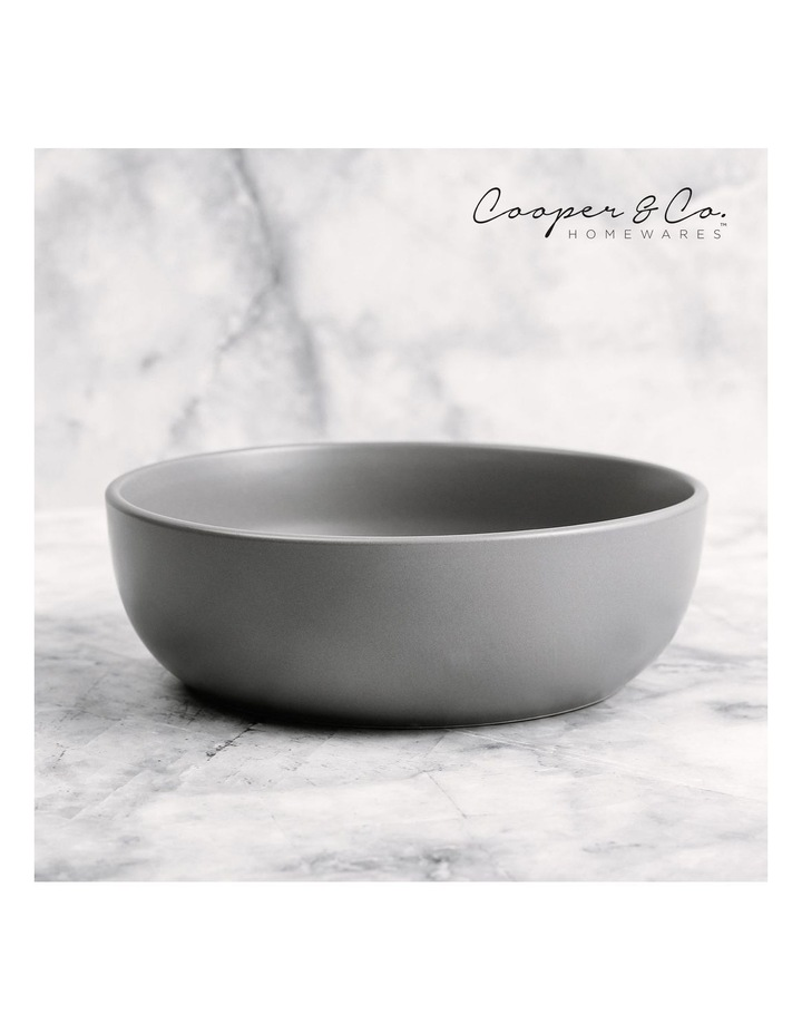 18cm Annisa Bowl Set Of 6  Grey image 5