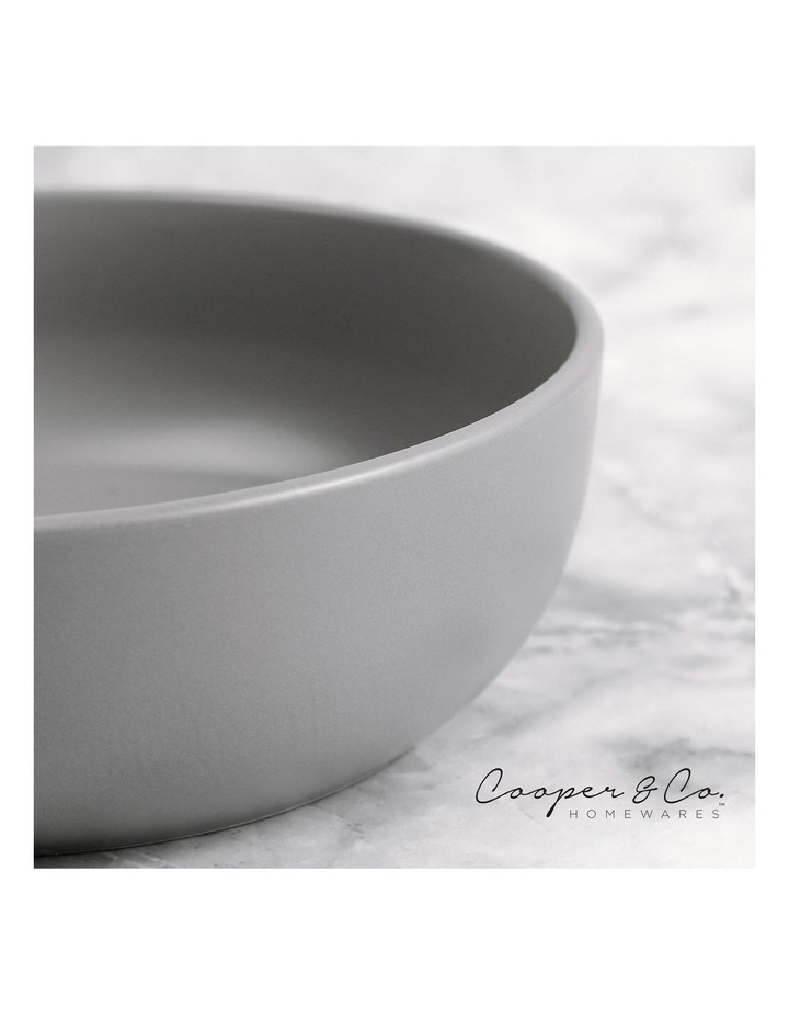 18cm Annisa Bowl Set Of 6  Grey image 6