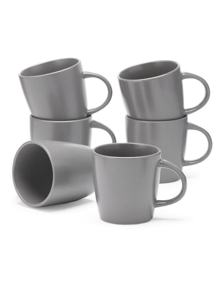 9cm Annisa Mug Set Of 6  Grey image 1
