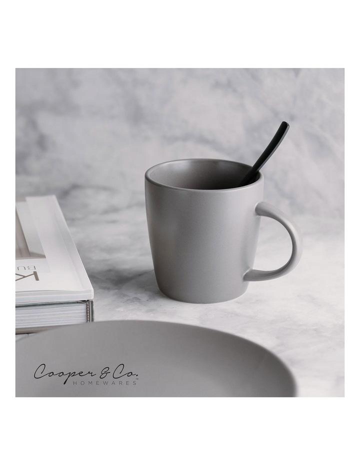 9cm Annisa Mug Set Of 6  Grey image 2