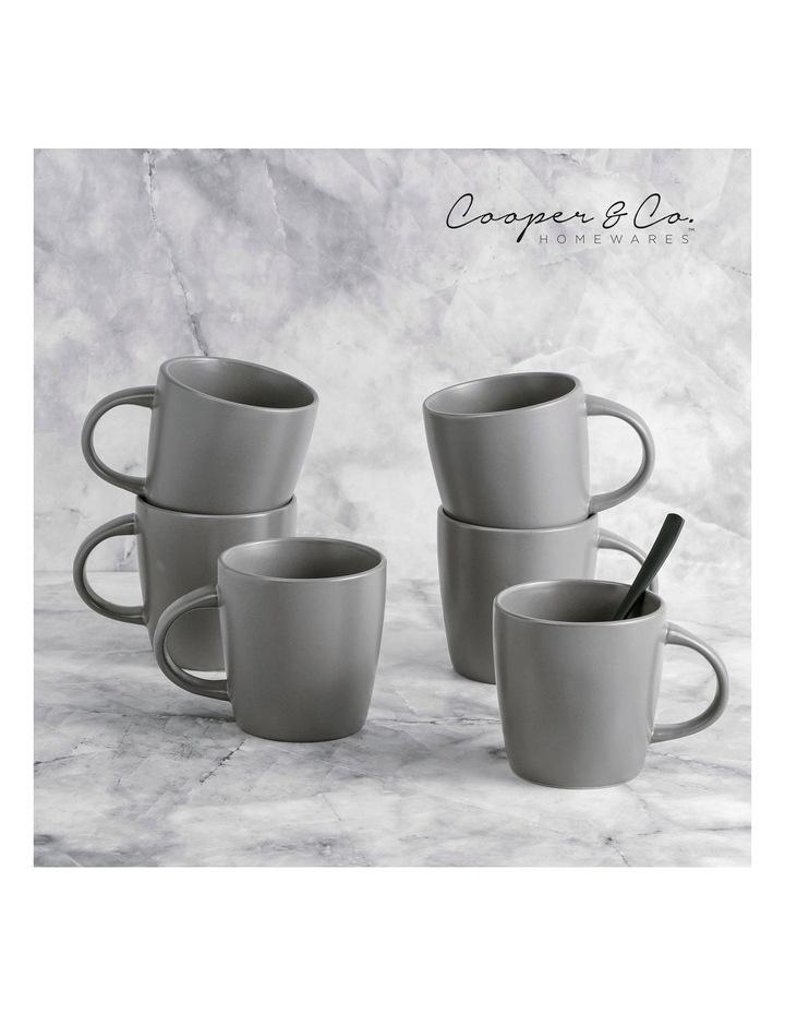 9cm Annisa Mug Set Of 6  Grey image 4