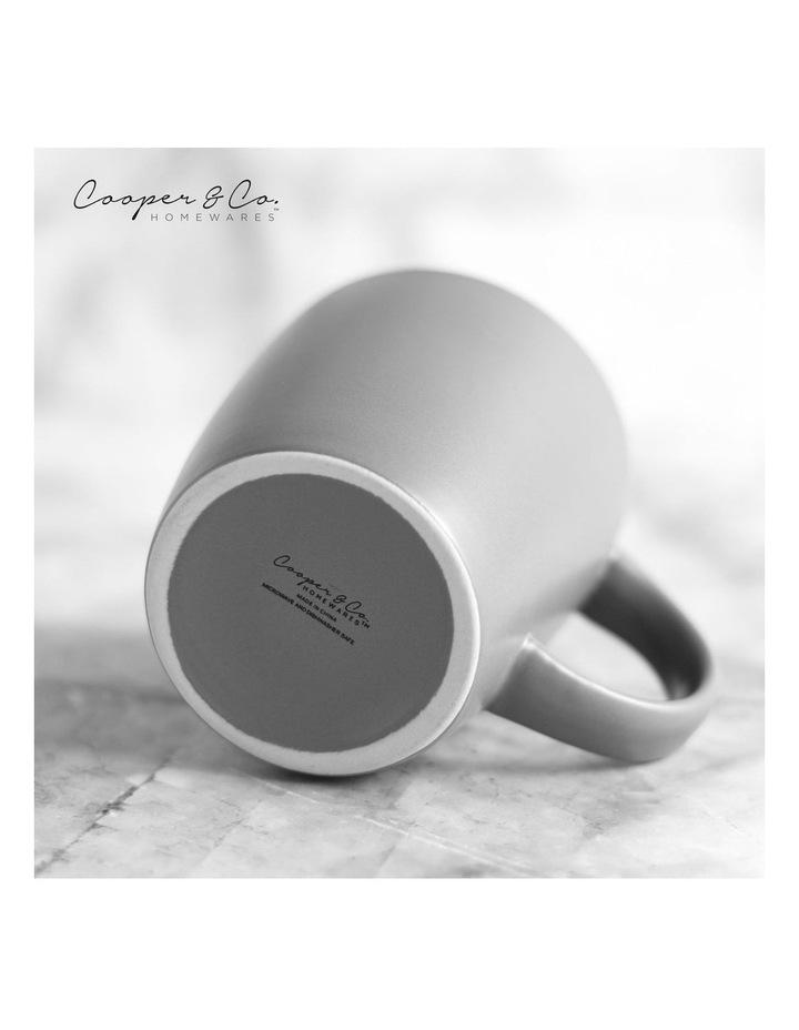 9cm Annisa Mug Set Of 6  Grey image 5