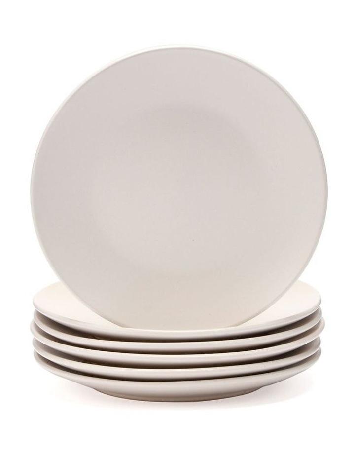 21cm Annisa Side Plate Set Of 6  Ivory image 1
