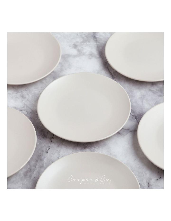 21cm Annisa Side Plate Set Of 6  Ivory image 4