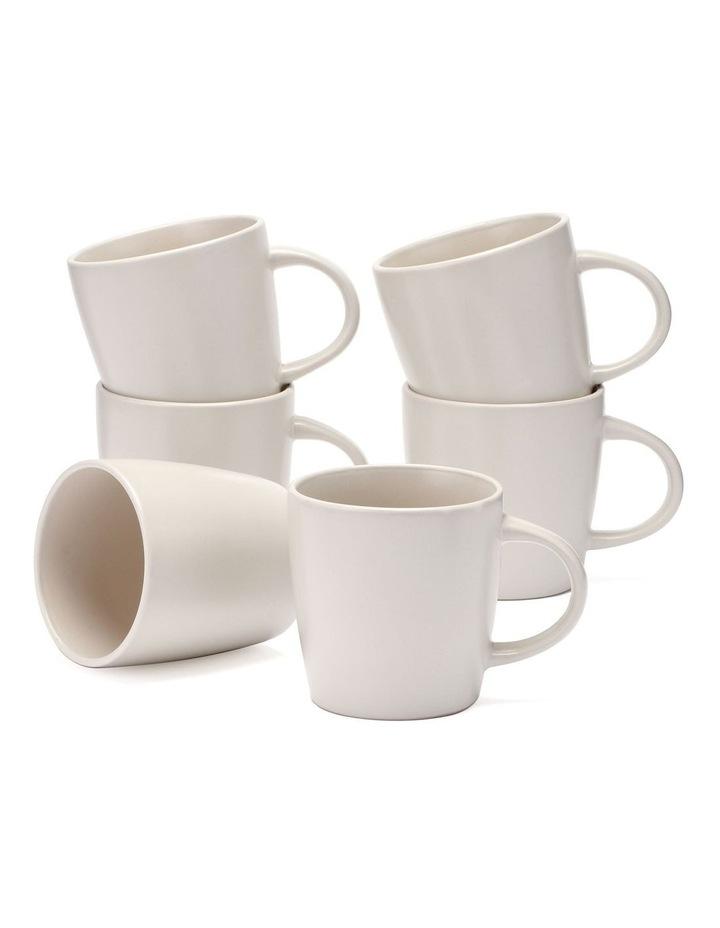 9cm Annisa Mug Set Of 6  Ivory image 1