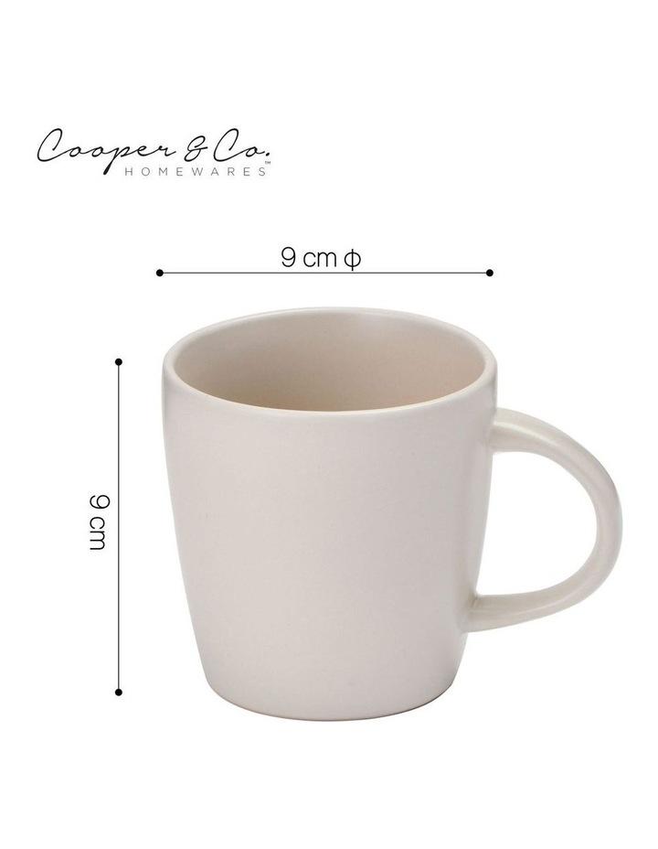 9cm Annisa Mug Set Of 6  Ivory image 3