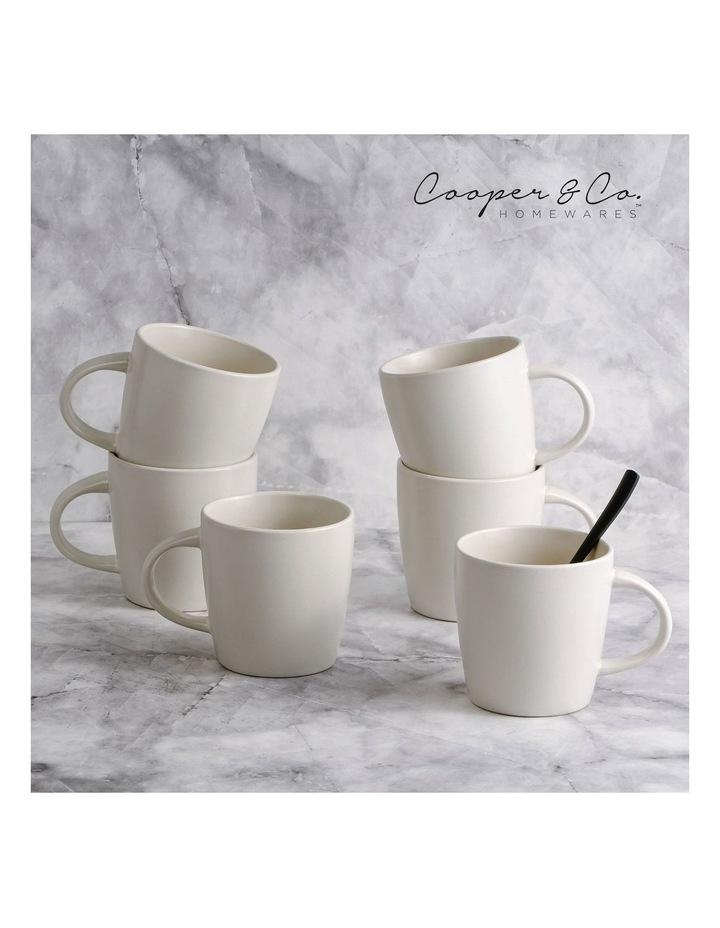 9cm Annisa Mug Set Of 6  Ivory image 4