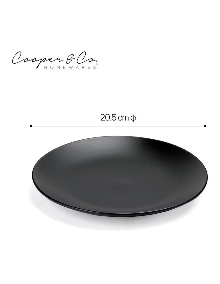 21cm Annisa Side Plate Set Of 6  Black image 3