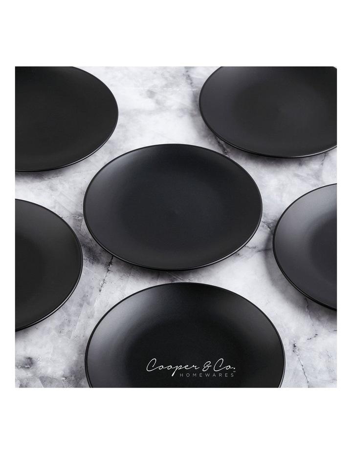 21cm Annisa Side Plate Set Of 6  Black image 4