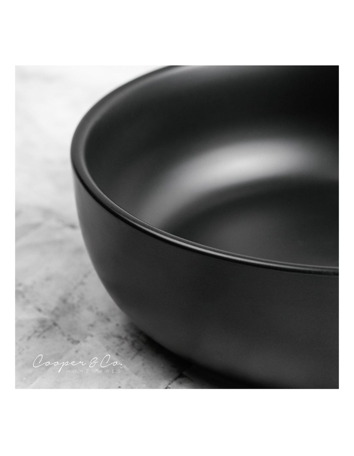 18cm Annisa Bowl Set Of 6  Black image 6