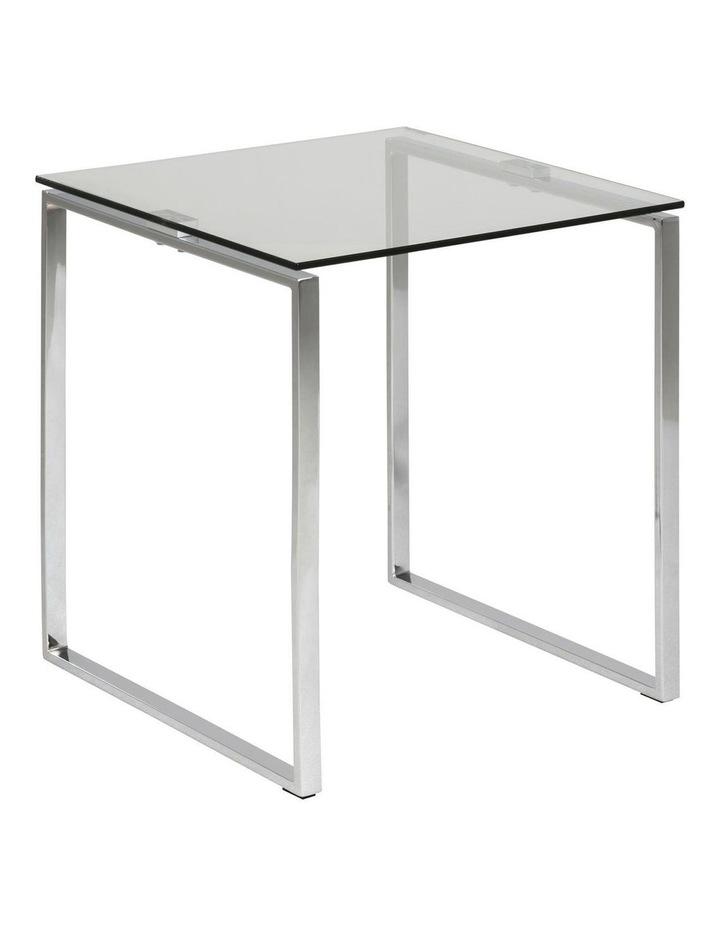 Katrine Glass-Top Side Table image 1