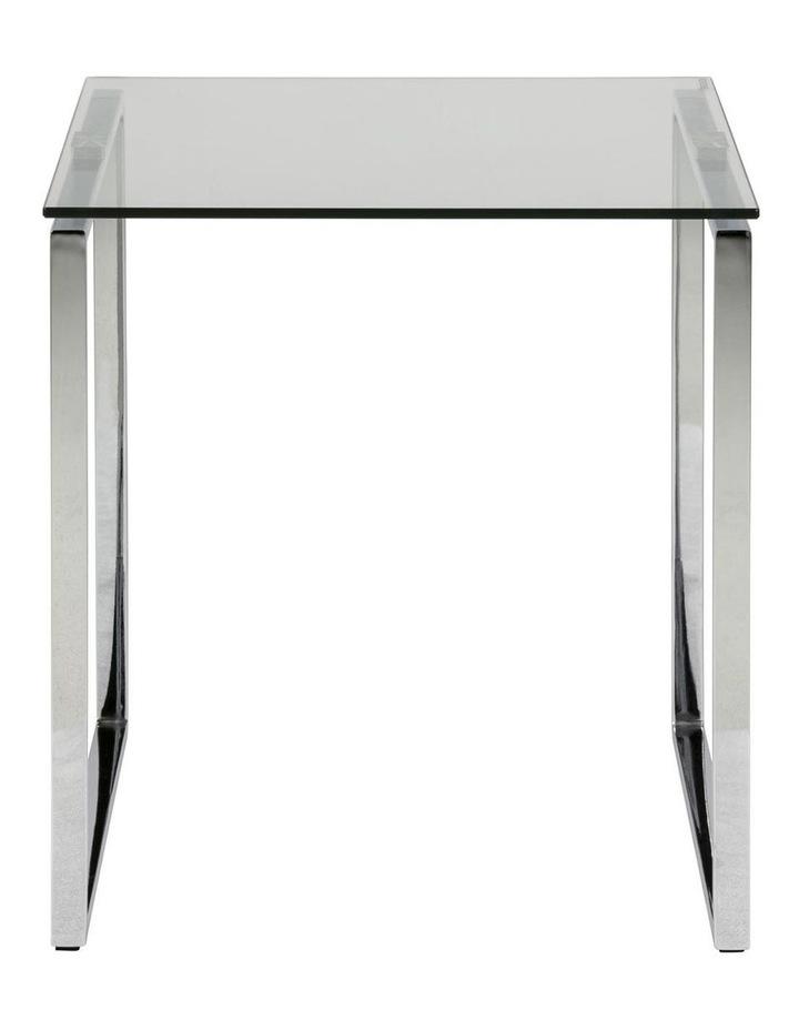 Katrine Glass-Top Side Table image 2
