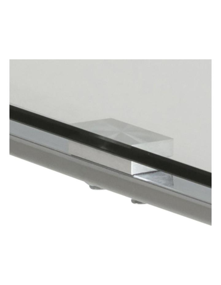 Katrine Glass-Top Side Table image 5