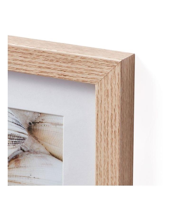 Instant Gallery Wall 7 Piece Frame Set Oak image 2