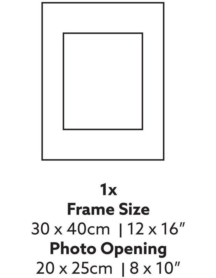 Instant Gallery Wall 7 Piece Frame Set Oak image 4