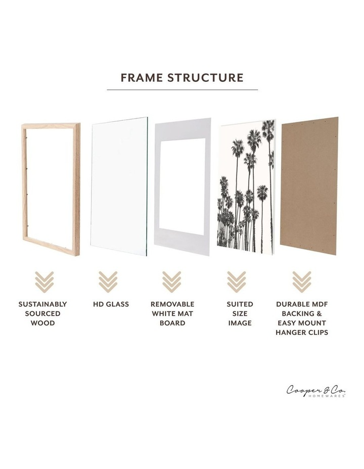 Instant Gallery Wall 7 Piece Frame Set Black image 5