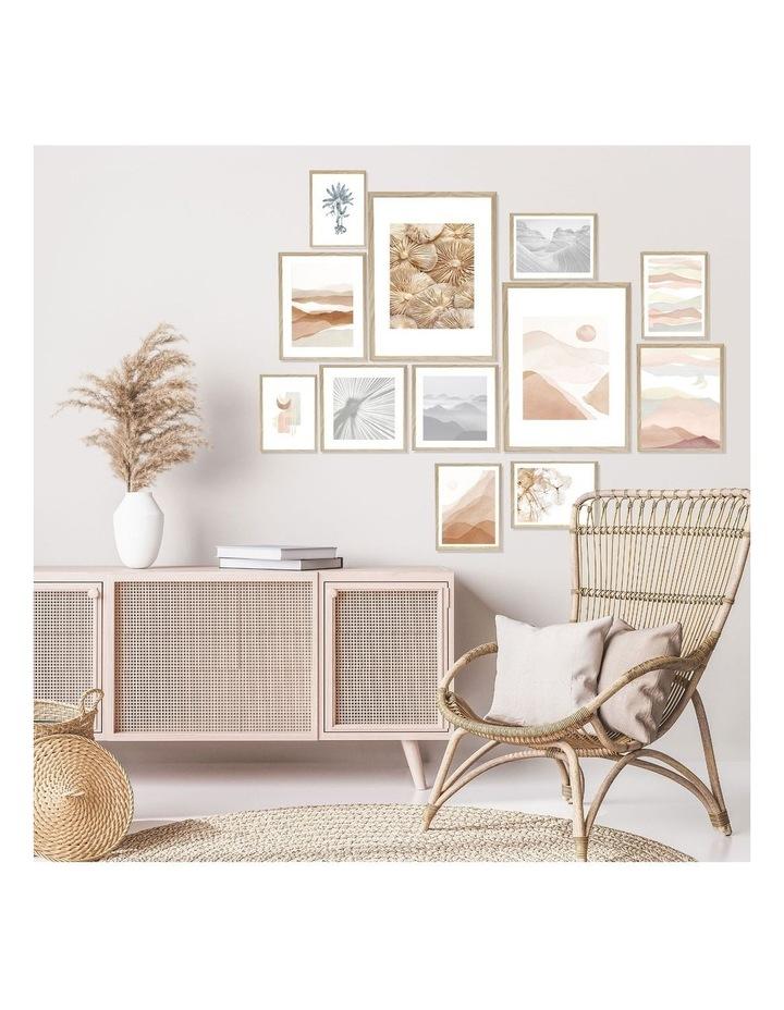 Instant Gallery Wall 12 Piece Frame Set Oak image 4