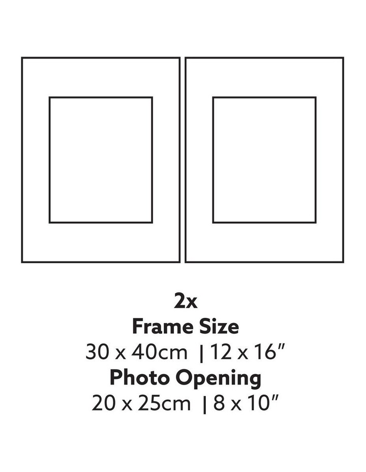 Instant Gallery Wall 12 Piece Frame Set Black image 4