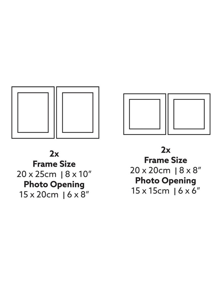 Instant Gallery Wall 12 Piece Frame Set Black image 5