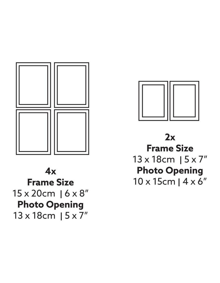 Instant Gallery Wall 12 Piece Frame Set Black image 6