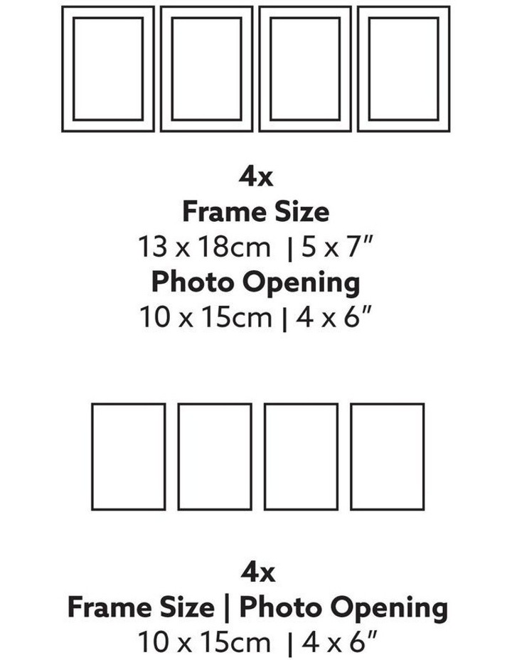 Instant Gallery Wall 20 Piece Frame Set White image 6