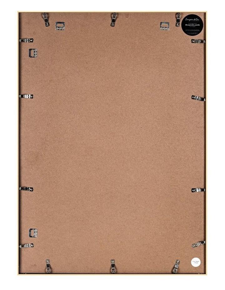 A1 Mat to A2 Metallicus Metal Photo Frame Gold image 2