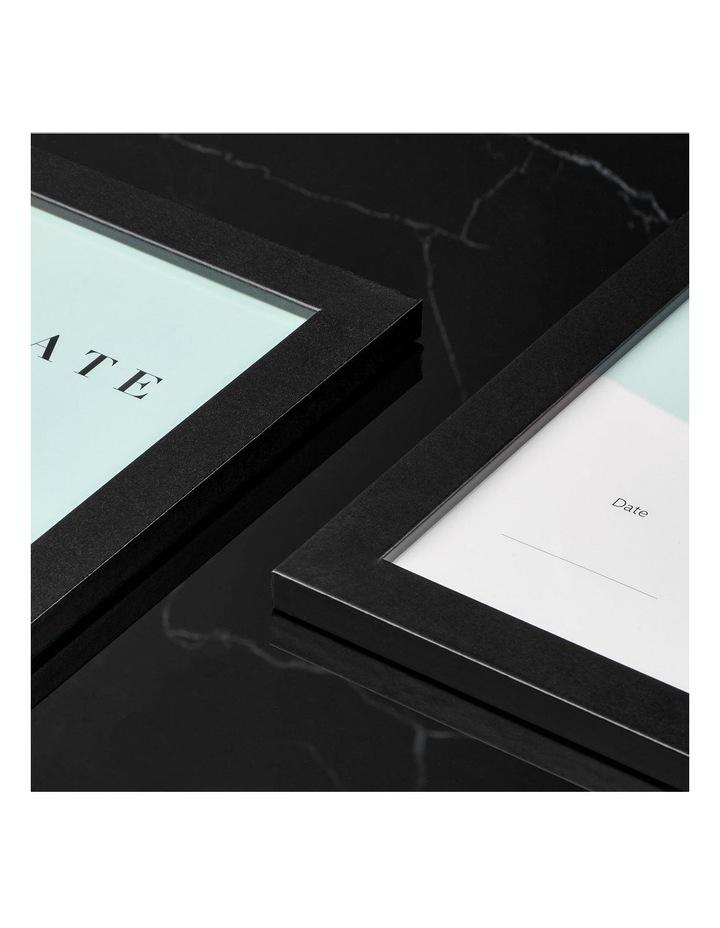 6pk A4 Urban Certificate Frame Black image 4
