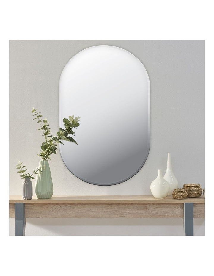 Cooper & Co. Large Urban Frameless Oval Mirror image 2