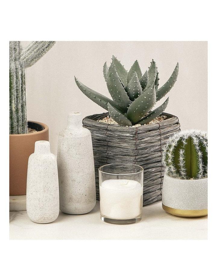 29cm Aloe Vera Artificial Plant In Basket image 2