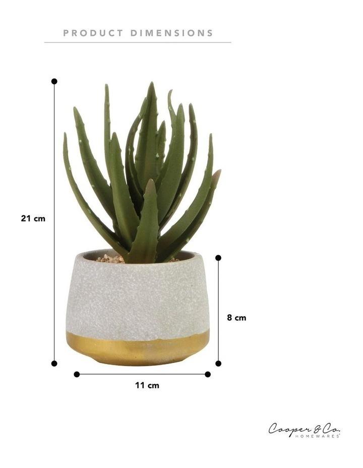 21cm Aloe Vera Artificial Plant image 6