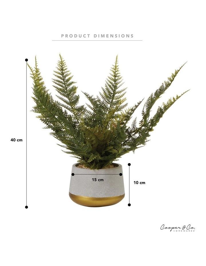 40cm Fern Artificial Plant image 6