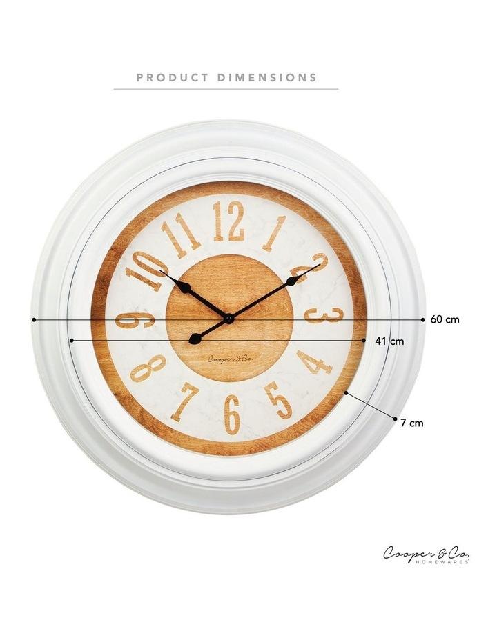 60cm Hazel Jumbo Wall Clock image 6