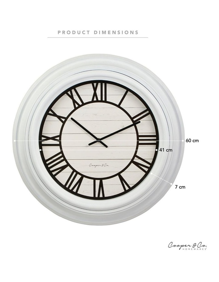 60cm Hollie Jumbo Wall Clock image 6