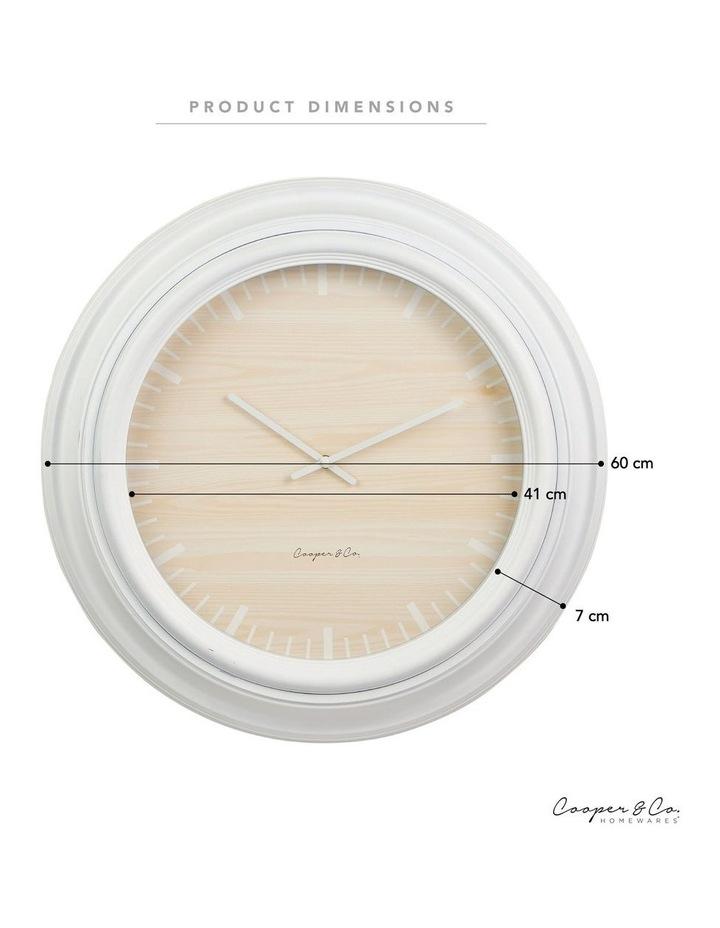60cm Ria Jumbo Wall Clock image 5