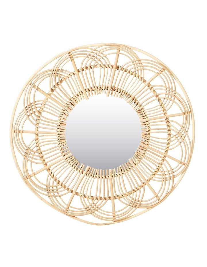 60cm Willow Wall Mirror image 1