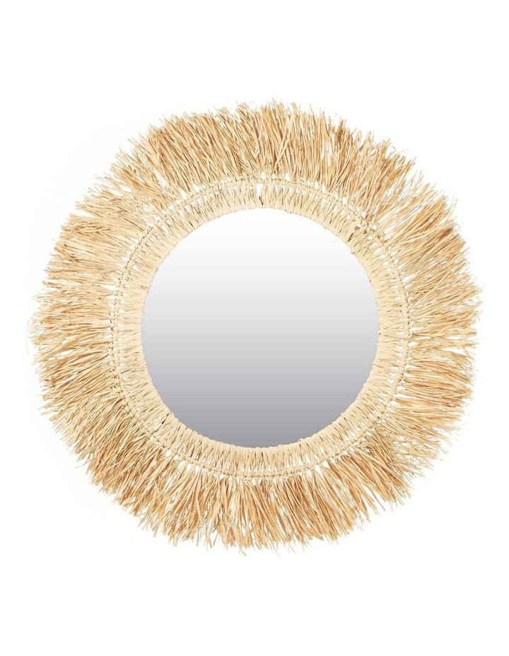 73cm Reed Wall Mirror image 1