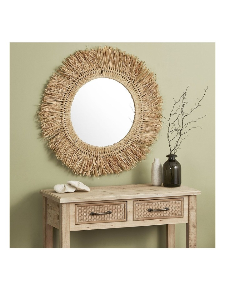 73cm Reed Wall Mirror image 2