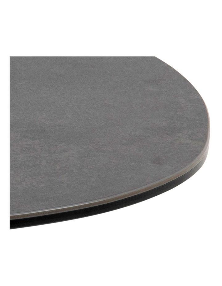 Living 100cm Porcelain Stone Black Austin Coffee Table image 4