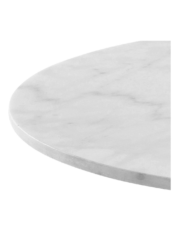 Living 50cm Marble Marais Black Lamp Table image 4