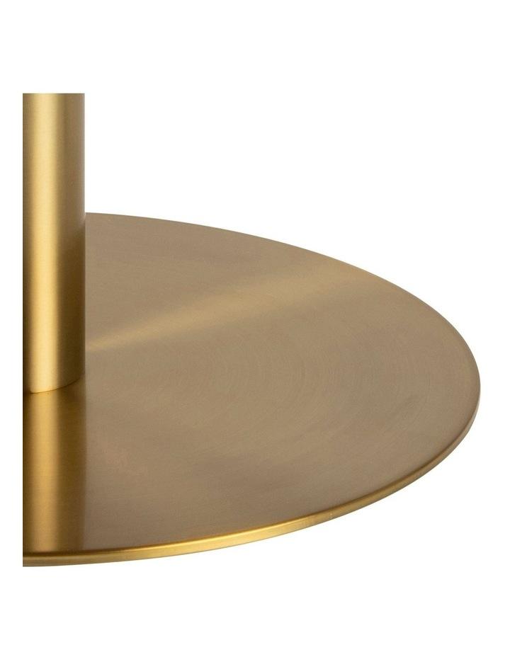Living 80cm Marble Marais Brass Coffee Table image 6