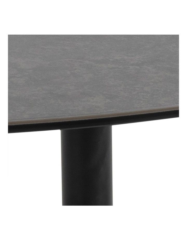 Living 84cm Porcelain Stone Black Austin Coffee Table image 5