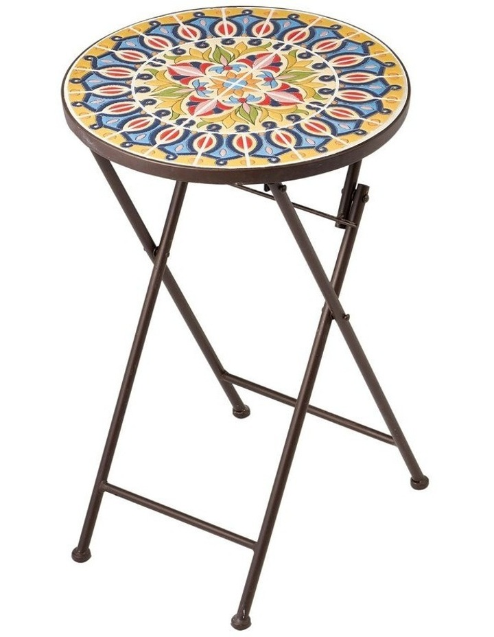Cooper & Co. Moroccan Mosaic Accent Table image 1