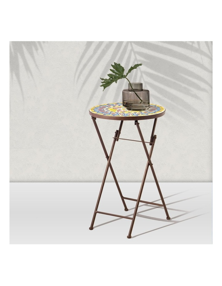 Cooper & Co. Moroccan Mosaic Accent Table image 2